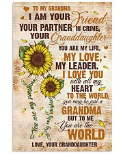 To Grandma - I Love You With All My Heart 16x24 Poster front