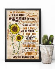 To Grandma - I Love You With All My Heart 16x24 Poster lifestyle-poster-8