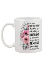 MUG - TO MOTHER-IN-LAW - FLOWER - THANKS FOR Mug back