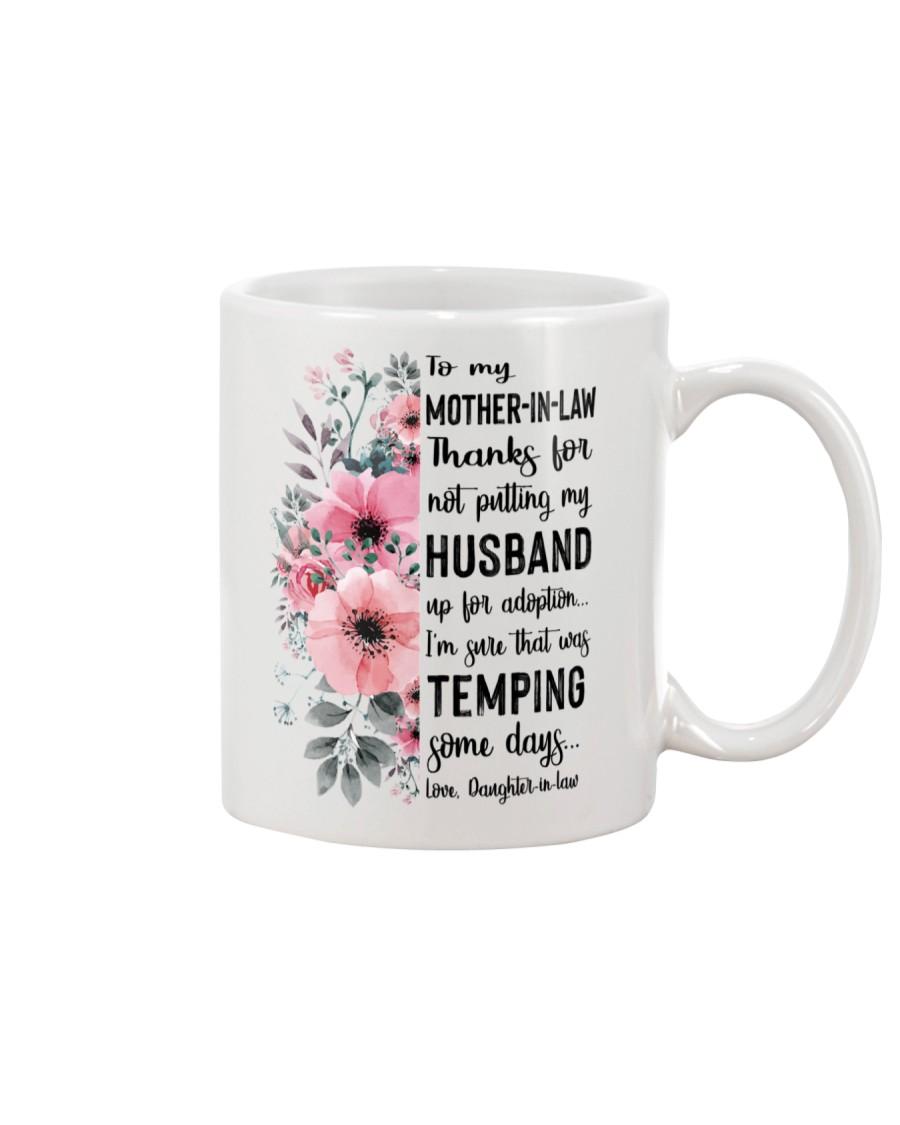 MUG - TO MOTHER-IN-LAW - FLOWER - THANKS FOR Mug
