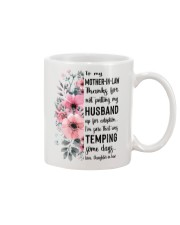 MUG - TO MOTHER-IN-LAW - FLOWER - THANKS FOR Mug front