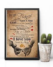 TO MY FIANCE' 16x24 Poster lifestyle-poster-8