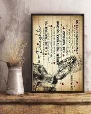To My Daughter - Wolf - Wherever Your Journey 16x24 Poster lifestyle-poster-3