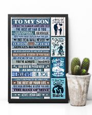 Dad To Son - For All The Things My Hands - Poster 16x24 Poster lifestyle-poster-8