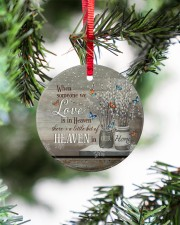 Angel - When Someone We Love Is In Heaven Circle ornament - single (porcelain) aos-circle-ornament-single-porcelain-lifestyles-07