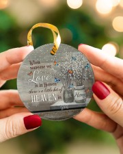 Angel - When Someone We Love Is In Heaven Circle ornament - single (porcelain) aos-circle-ornament-single-porcelain-lifestyles-08