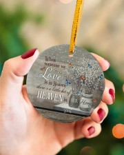 Angel - When Someone We Love Is In Heaven Circle ornament - single (porcelain) aos-circle-ornament-single-porcelain-lifestyles-09