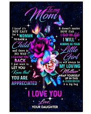 To My Mom - You Are Appreciated - Poster 16x24 Poster front