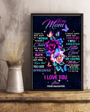 To My Mom - You Are Appreciated - Poster 16x24 Poster lifestyle-poster-3