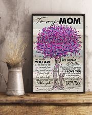 TO MY MOM - TREE - MY LOVING MOTHER 16x24 Poster lifestyle-poster-3