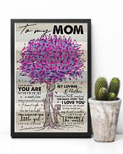 TO MY MOM - TREE - MY LOVING MOTHER 16x24 Poster lifestyle-poster-8