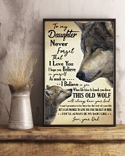 DAD TO DAUGHTER 16x24 Poster lifestyle-poster-3