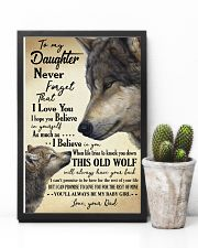 DAD TO DAUGHTER 16x24 Poster lifestyle-poster-8