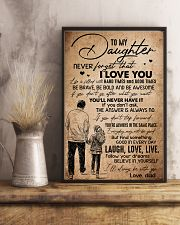TO DAUGHTER - HANDS - BE WITH YOU 16x24 Poster lifestyle-poster-3