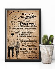 TO DAUGHTER - HANDS - BE WITH YOU 16x24 Poster lifestyle-poster-8