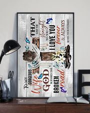 To My Wife - God Blessed The Broken Road - Poster 16x24 Poster lifestyle-poster-2