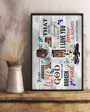 To My Wife - God Blessed The Broken Road - Poster 16x24 Poster lifestyle-poster-3