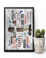 To My Wife - God Blessed The Broken Road - Poster 16x24 Poster lifestyle-poster-8