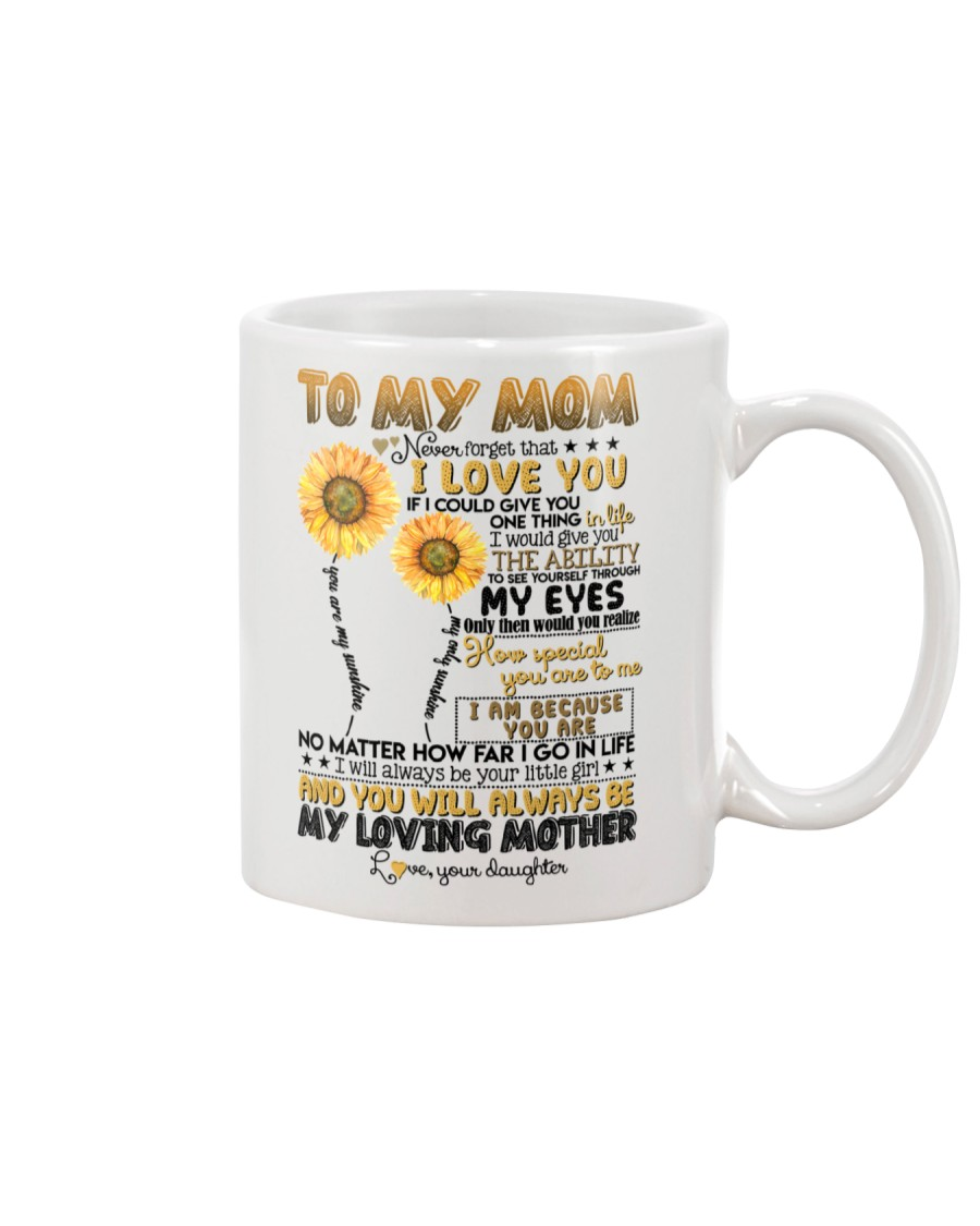 TO MY MOM - SUNFLOWER - YOU ARE MY SUNSHINE Mug