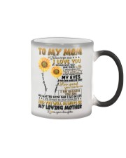 TO MY MOM - SUNFLOWER - YOU ARE MY SUNSHINE Color Changing Mug thumbnail