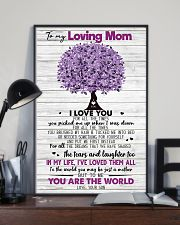 TO MY MOM - TREE - MY HERO 16x24 Poster lifestyle-poster-2