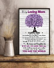 TO MY MOM - TREE - MY HERO 16x24 Poster lifestyle-poster-3