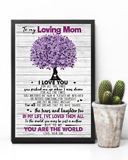 TO MY MOM - TREE - MY HERO 16x24 Poster lifestyle-poster-8