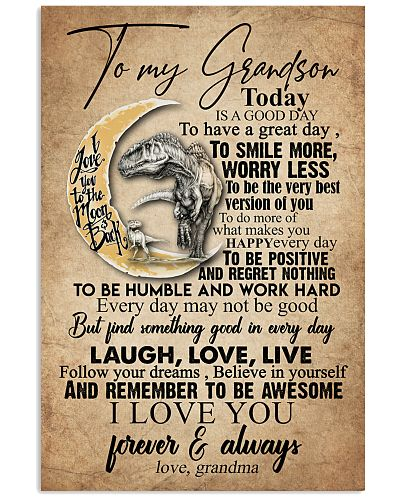 TO MY GRANDSON - MOON - TODAY IS A GOOD DAY