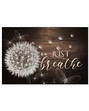 Just Breathe - Canvas Horizontal Poster tile