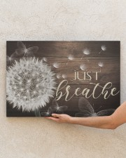 Just Breathe - Canvas 30x20 Gallery Wrapped Canvas Prints aos-canvas-pgw-30x20-lifestyle-front-28