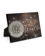 Just Breathe - Canvas Easel-Back Gallery Wrapped Canvas tile