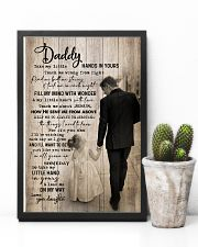 TO MY DAD - TAKE MY LITTLE HANDS IN YOURS 16x24 Poster lifestyle-poster-8