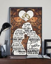 Husband to Wife - I Take You To Be My Best Friend 16x24 Poster lifestyle-poster-2