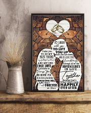 Husband to Wife - I Take You To Be My Best Friend 16x24 Poster lifestyle-poster-3