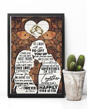 Husband to Wife - I Take You To Be My Best Friend 16x24 Poster lifestyle-poster-8