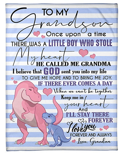 TO MY GRANDSON - T REX -ONCE UPON