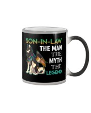 SON-IN-LAW - SHIBA - THE MAN THE MYTH THE LEGEND Color Changing Mug thumbnail