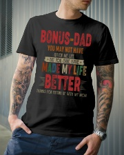T-SHIRT - TO MY BONUS DAD - THANK YOU Classic T-Shirt lifestyle-mens-crewneck-front-6
