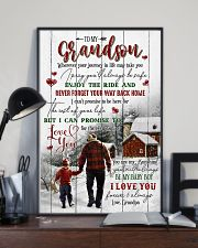 To Grandson - You Are My Sunshine - Poster 16x24 Poster lifestyle-poster-2
