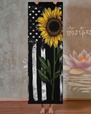Independence Day - Sunflower - Yoga Mat Yoga Mat 24x70 (vertical) aos-yoga-mat-lifestyle-29