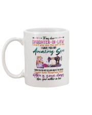 MUG - TO MY DAUGHTER-IN-LAW - SEWING - CIRCUS Mug back