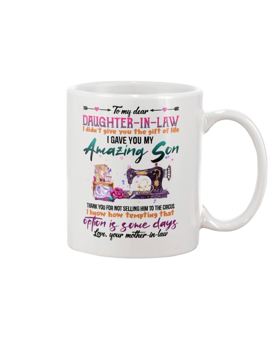 MUG - TO MY DAUGHTER-IN-LAW - SEWING - CIRCUS Mug