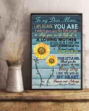DAUGHTER TO MOM 16x24 Poster lifestyle-poster-3