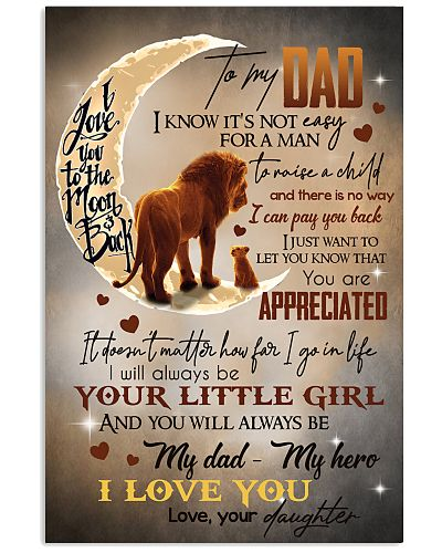 TO MY DAD - LION - YOU ARE APPRECIATED