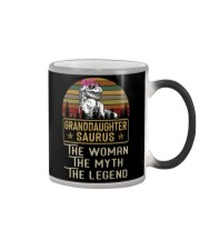 TO MY GRANDDAUGHTER - T REX - THE LEGEND Color Changing Mug thumbnail