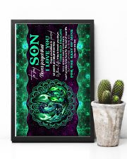 To My Son - Dragon - Poster 16x24 Poster lifestyle-poster-8