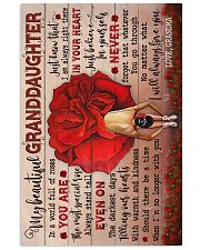 To Granddaughter - You Are The Most Special Rose 16x24 Poster front