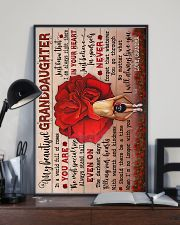 To Granddaughter - You Are The Most Special Rose 16x24 Poster lifestyle-poster-2