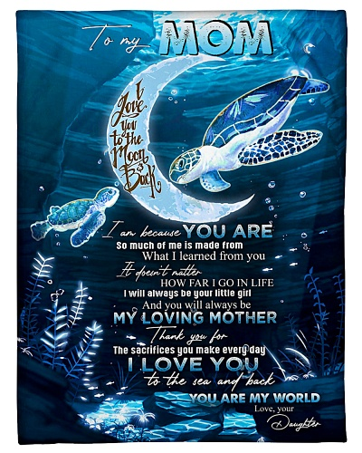 TO MY MOM - TURTLE - I LOVE YOU