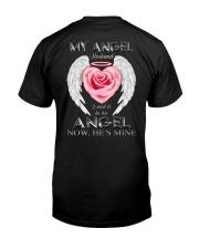 T-SHIRT - MY ANGEL HUSBAND - WINGS - HE'S MINE Classic T-Shirt back
